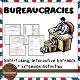 Bureaucracies Interactive Note-taking Activities