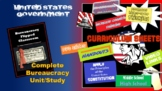"""AP GOV Flipped Bureaucracy Complete Unit - """"Our Nation's Fourth Branch"""""""