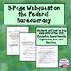 Federal Bureaucracy Webquest