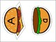 Burger Alphabet Upper and Lower Case Match Game