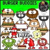 Burger Buddies Clip Art Bundle {Educlips Clipart}