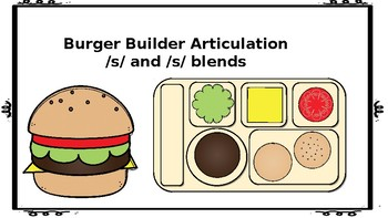 Burger Flip Articulation: S and S Blends