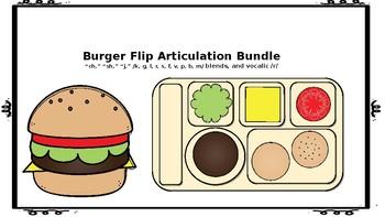 Burger Flip Articulation: The Bundle