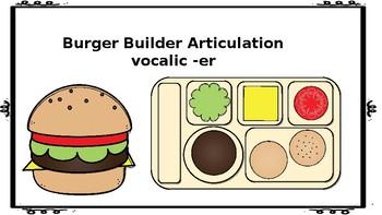 Burger Flip Articulation: Vocalic ER