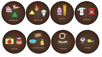 Burger Flip: /l/ and /l/ blends
