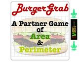 Perimeter and Area Game: Burger Grab