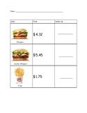Burger King Dollar Up