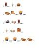 Burger King and Dairy Queen Menu Math Bundle