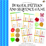 Burger Pattern and Sequence Game