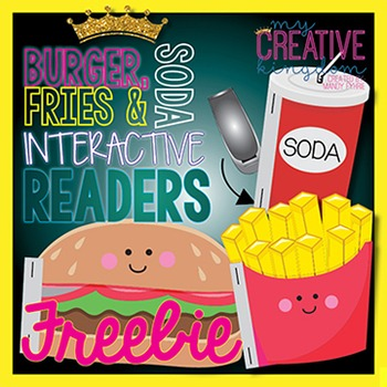 Burger, Soda & Fries Interactive Reader (IR) Book