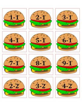 Burger Subtraction