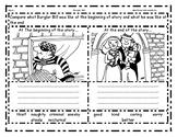 Burglar Bill: Character beginning/end comparison & Speech bubbles writing