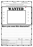 Burglar Bill Writing: Character Wanted poster SWAG description & Suitcase Riddle