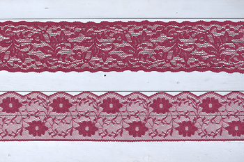 Burgundy Lace Borders Clipart
