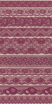 Burgundy Purple Lace borders clipart png scrapbook embellishments