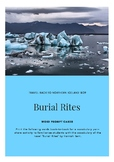 Burial Rites - Word Prompt Cards
