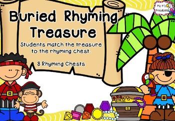 Buried Rhyming Treasure - FREEBIE