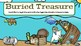 Buried Treasure (Coins)-A Digital Math Center (Compatible with Google Apps)