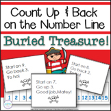 Number Line Addition and Subtraction Activities Pirates