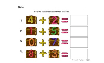 Buried Treasure (a Common Core Aligned Reading & Math Pack)