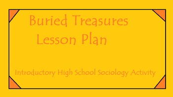 Buried Treasures Lesson