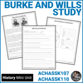 Burke and Wills - Australian Explorers Information and Act