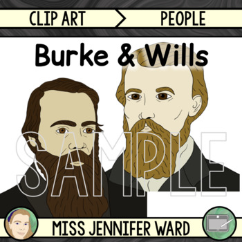 Burke and Wills Clipart