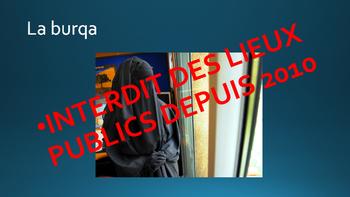 Burkini burqa voile intro ppt