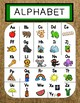 Burlap AND Bold - Alphabet Posters and Alphabet Chart