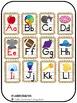 Alphabet Posters - Burlap