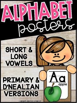 Burlap Alphabet Posters- Burlap Decor