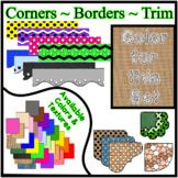 Burlap Borders Trim Corners *Create Your Own Dream Classro