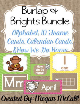 Burlap & Brights Bundle