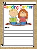 Burlap Brights Center Signs |Freebie