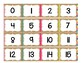 Burlap & Brights Number Cards