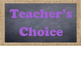 Burlap & Chalkboard Clip Chart