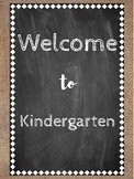 Welcome Signs (Burlap & Chalkboard)