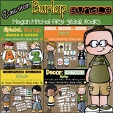 Burlap Classroom BUNDLE