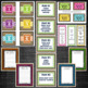 Back to School Burlap Classroom Decor Bundle {Editable}