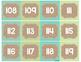 Burlap Classroom Decoration: Number Cards (0-120)