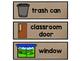 Burlap Classroom Labels Freebie