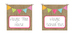 Burlap Classroom Library Labels