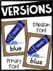 Burlap Color Posters - Burlap Decor