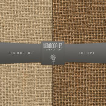 Burlap Digital Paper, Natural Burlap, Jute Fabric, Large Gap