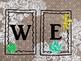 Burlap, Lace & Succulents WELCOME BACK SIGN