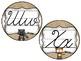 Burlap, Lace, Woodland Animal Cursive Alphabet