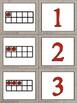 Burlap Math Partner Cards!