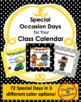 Burlap & Polka Dots Complete Calendar Bundle