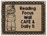 Burlap Reading Focus Wall