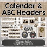 Farmhouse Calendar Wall & Alphabet Posters